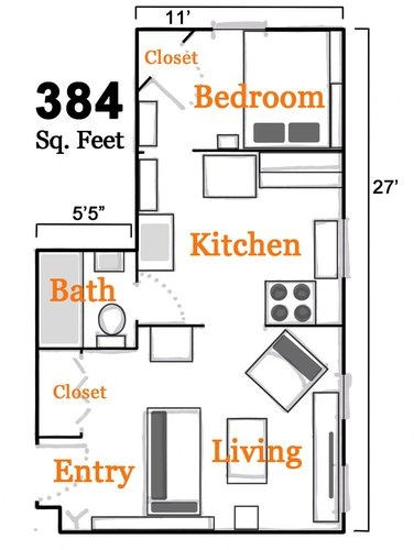 small space floor plan small space