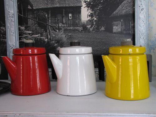 Pehtoori coffee pots