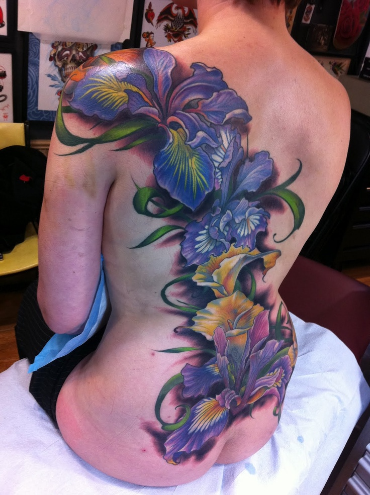 Orchid Tattoo Simon At POLprobably One Of The Greatest Tatts Ive