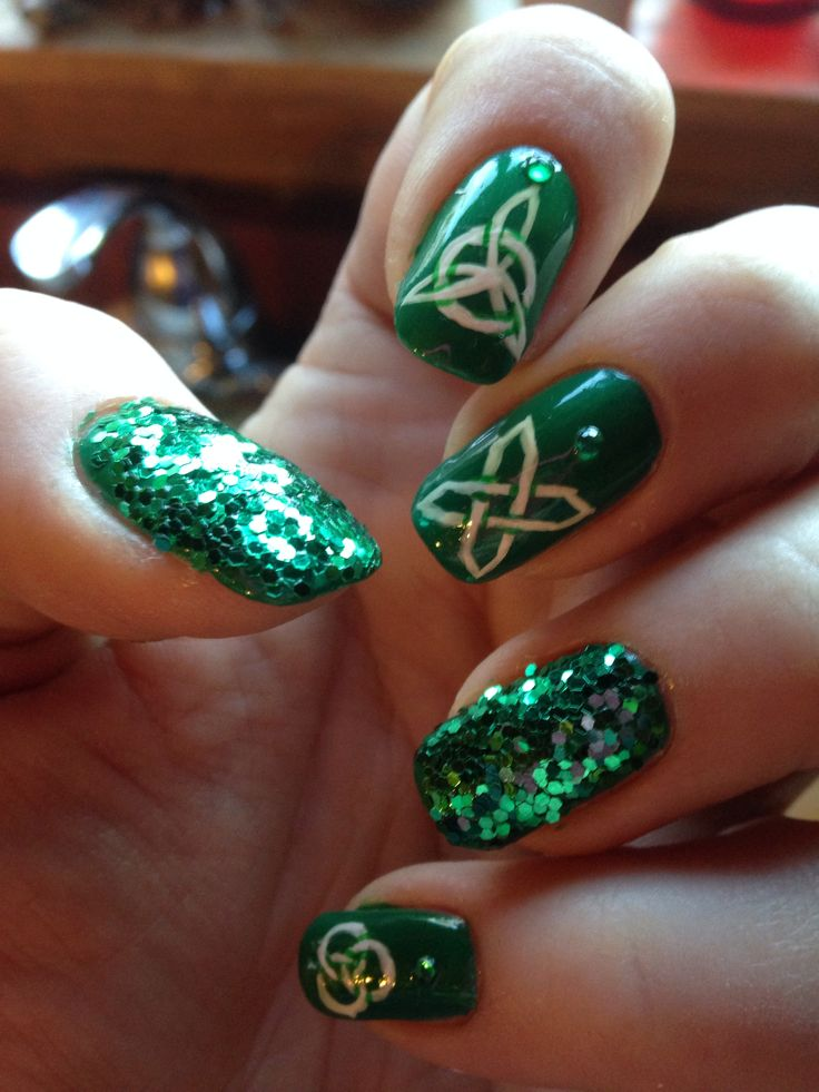 Irish Nail Art Ideas The Best Inspiration For Design And Color Of