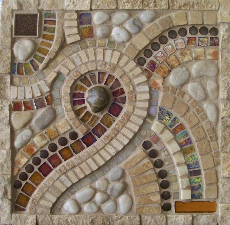 Copper cat studio mosaic murals mosaics pinterest for Mural mosaic
