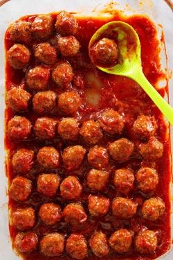 Turkey Pesto Meatballs | Recipe