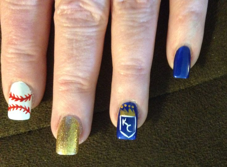 Kc Royals Nail Designs Best Nail Designs 2018