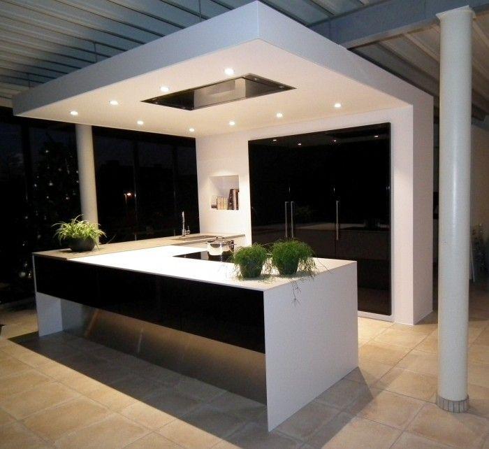 zwart wit keuken  inspiratiebeelden GIP  Pinterest
