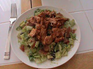 ... Kitchen Cabinet: BBQ Chicken Salad with Creamy Avocado Dressing