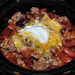 Ten Minute Chipotle Spiced Beef and Bean Chili ( I use ground turkey ...