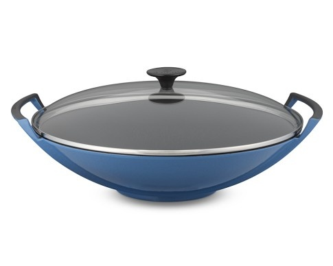 le creuset wok with glass lid 2o pots pans other kitchen pin. Black Bedroom Furniture Sets. Home Design Ideas