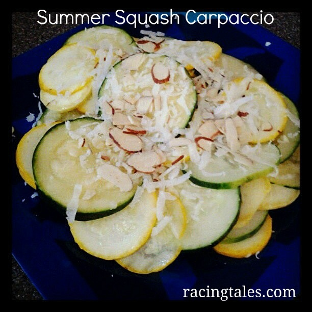 Summer squash salad | salad recipes | Pinterest