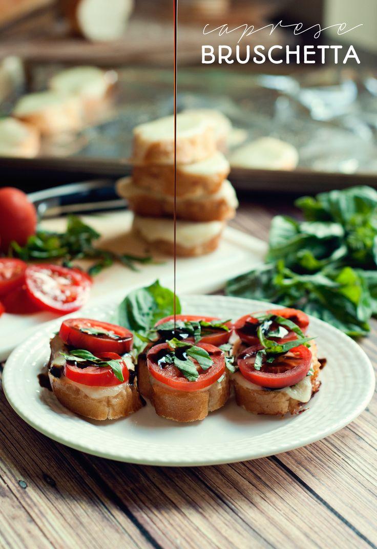 Caprese Bruschetta | www.mrsthreeinthree.com | #bruchetta #appetizer # ...