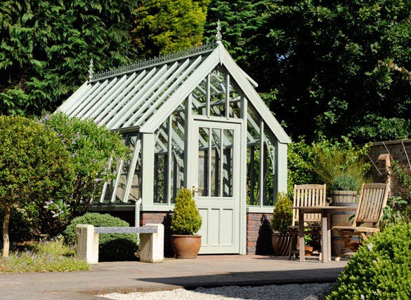 Nice Backyard Sheds : Nice greenhouses and garden design  GREENHOUSES, POTTING SHEDS & BA