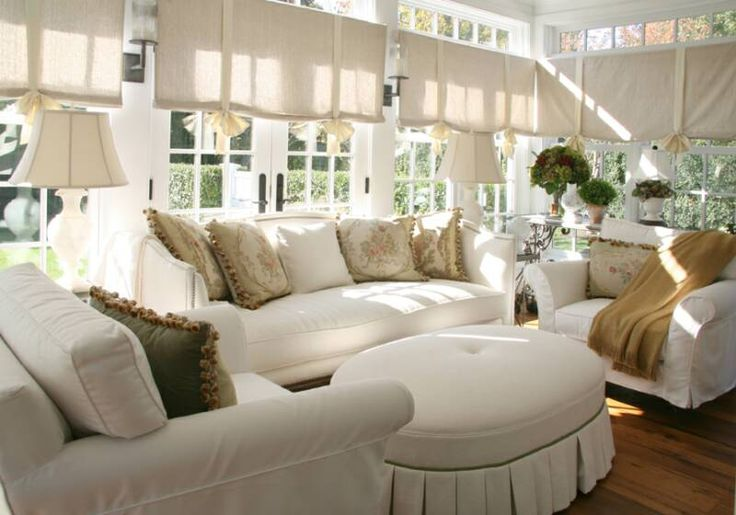 Sunroom Shades Sunrooms Pinterest