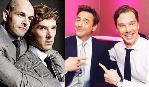 Sherlock Holmes x 3  (Jonny Lee Miller, Robert Downey Jr. and Benedict Cumberbatch)