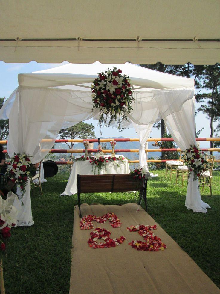 pergola decorada para boda decoraci n bodas pinterest