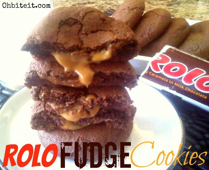 Rolo Cookies! | Fudge | Pinterest