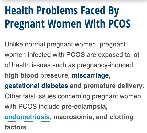 Clomid pcos and pregnancy