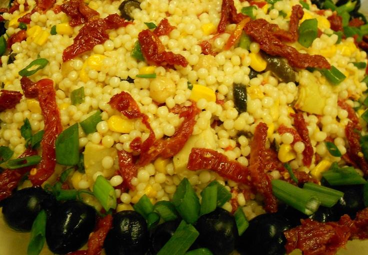 Mediterranean Couscous Salad | Margo's Catering | Pinterest