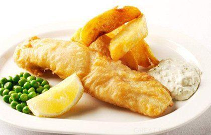 Fish and chips with tartare sauce | Recipe