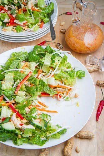 Closet Cooking: Sweet Chili Chicken Salad