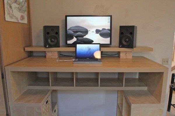diy standing desk diy standing desks home office