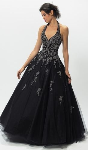 Black Wedding Dress Wedding Pinterest