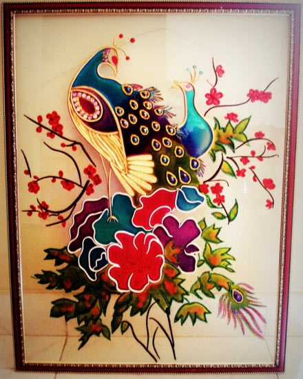 Peacock Design Painting   Simply Beautiful! All The Pretty ...