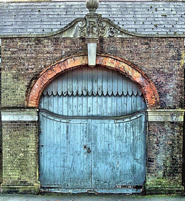 Old wooden gate doors gates pinterest