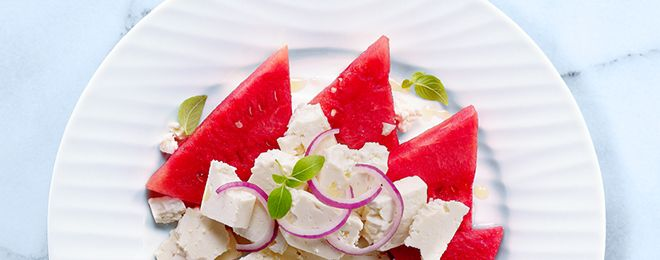 Watermelon and Feta Salad | Food and Drink | Pinterest
