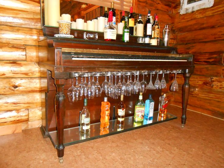 Piano bar ;) | Dining Room Ideas | Pinterest