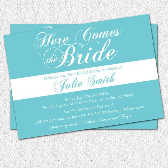 Invitations Bridal Shower for awesome invitations layout