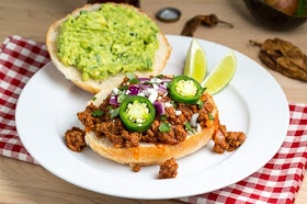 Texmex Sloppy Joes will use soy crumbles.