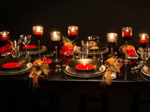 table #déco #ambiance #automne Photo : OPTIONS http://www.maison-deco ...