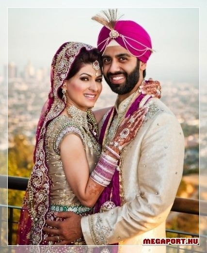 Indian Wedding Couple Indian Weddings Pinterest