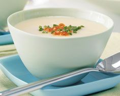 Cauliflower Soup with Golden Caviar | Food & Drink | Pinterest