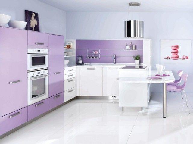 lilac kitchen  Dream Kitchens & Baths  Pinterest