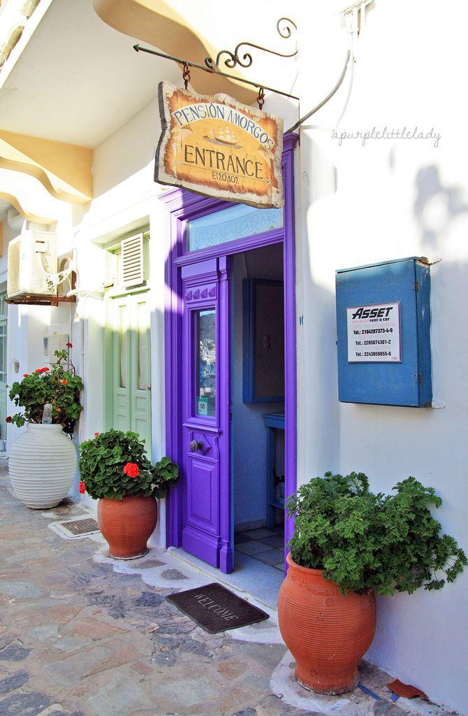 Katapola, Amorgos, Greece