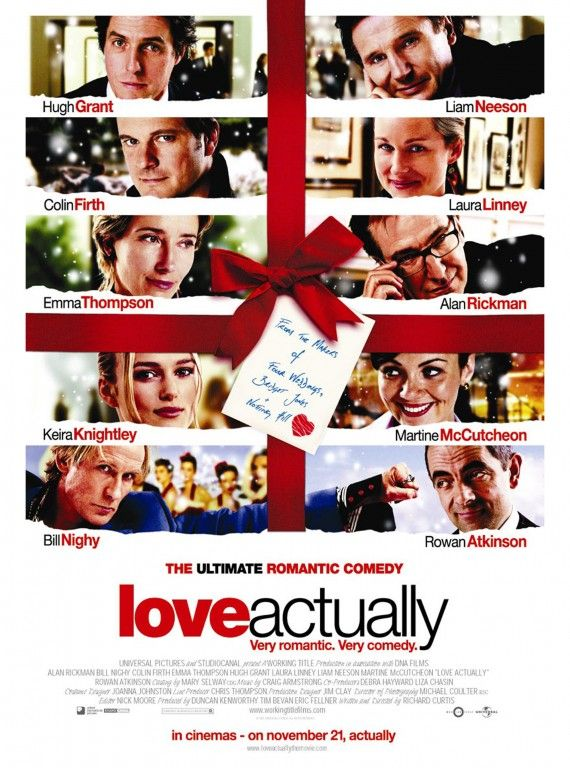 Love Actually - my other fav holiday movie