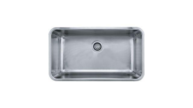 Franke Grande Sink : Franke Kitchen Sinks Grande GDX11031 Stainless Steel, 33