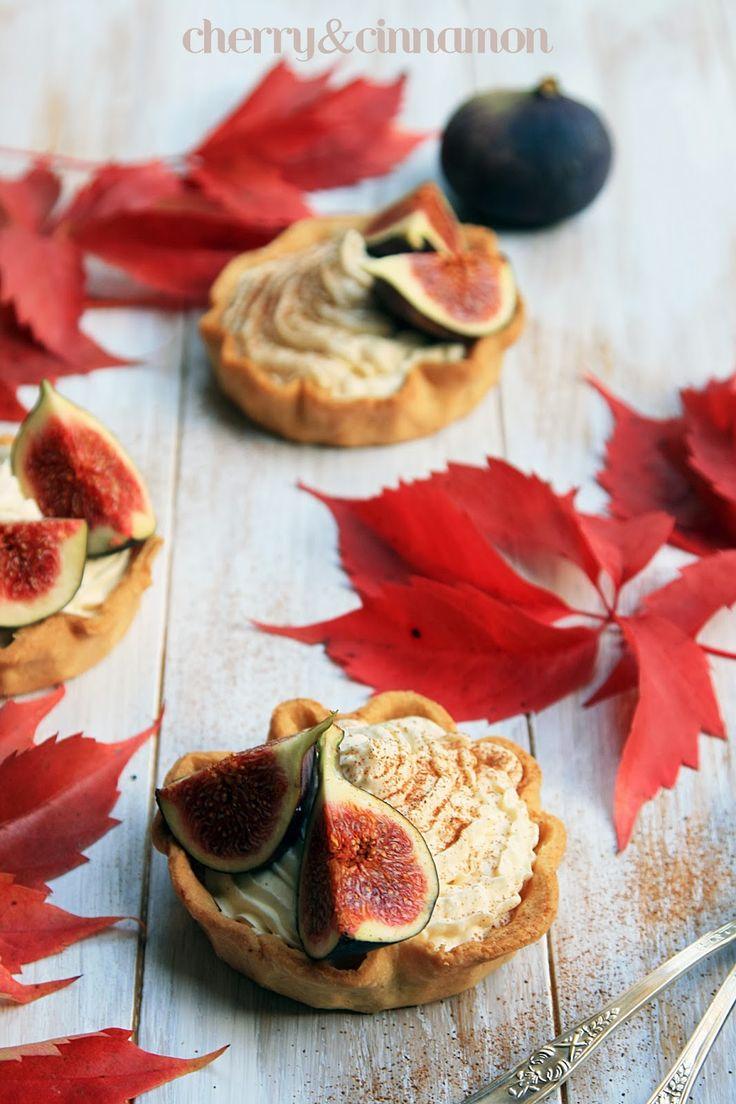cherry&cinnamon: Tartaletki z mascarpone i figami