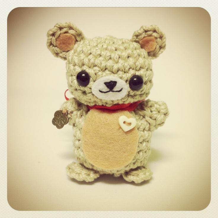 Amigurumi crochet bear Cute crochet & amigurumis Pinterest