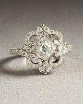 Vintage ring. SO pretty!!