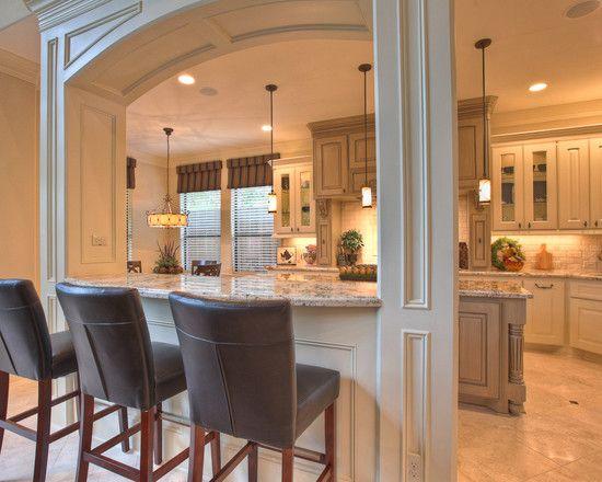 Kitchen pass through kitchen pinterest for Pass through kitchen ideas