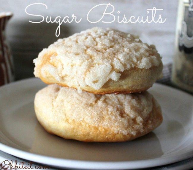 Sugar Biscuits   Favorite Recipes   Pinterest