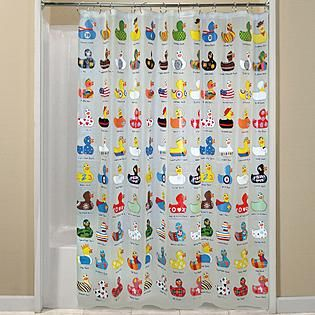 Rubber Ducky Shower Curtain Envy Duckie Pinterest