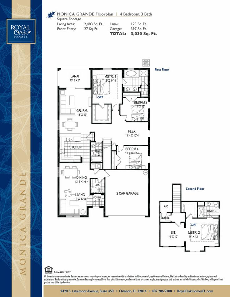 Floor Plan 2 Master Suites For The Home Pinterest