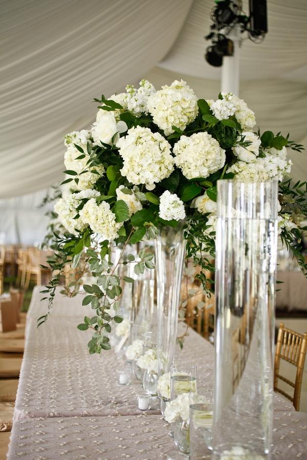 Hydrangea floral designs centerpiece pinterest