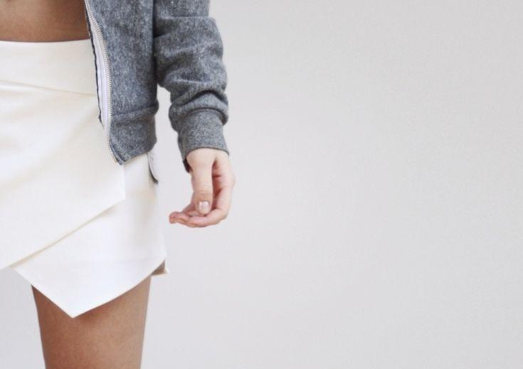 White Skort - Zara http://mija.creatorsofdesire.com/sporty-vibes/