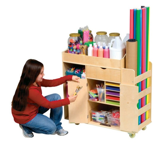 arts and crafts caddy. Black Bedroom Furniture Sets. Home Design Ideas
