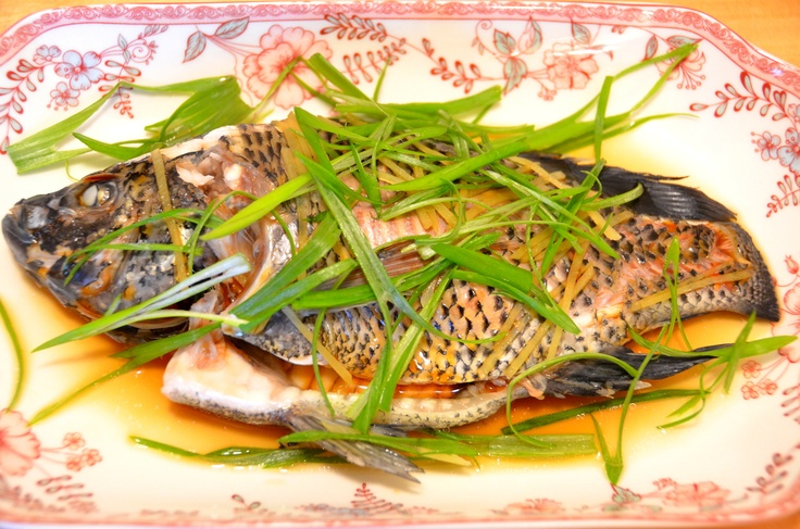 green onion ginger sauce recipe sea bass with ginger and green steamed ...