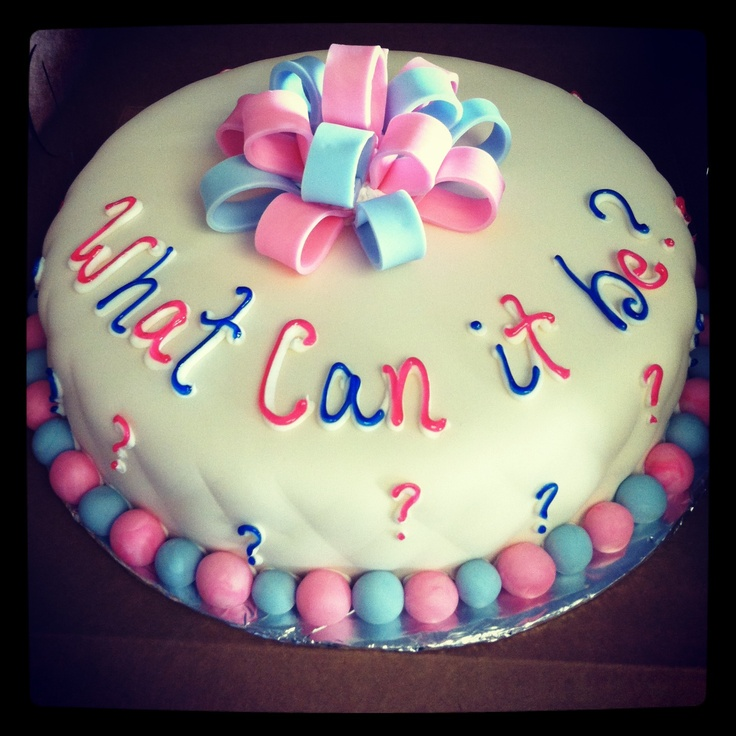 baby reveal cake idea for rachelle party 39 s showers events