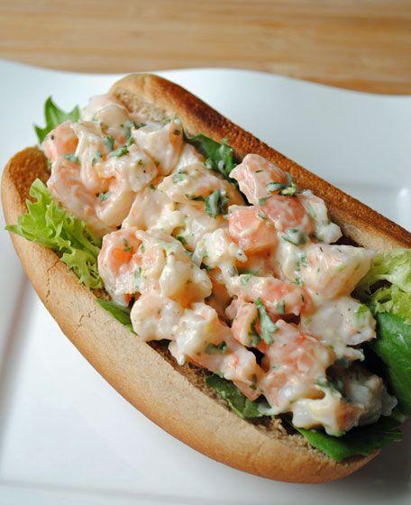 Shrimp Salad Rolls | Foods I love or crave! | Pinterest